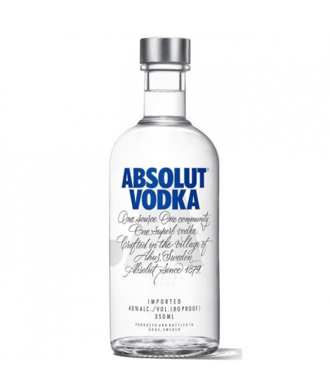 Absolut - Vodka de Suede - 40,0 % Vol. - 35 cl
