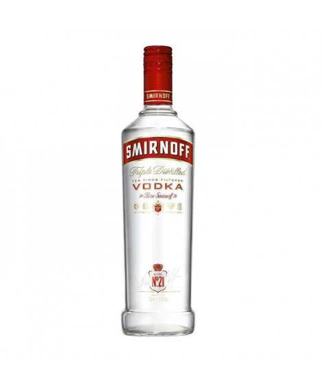 Vodka SMIRNOFF 21 - 50 cl - 37,5 °