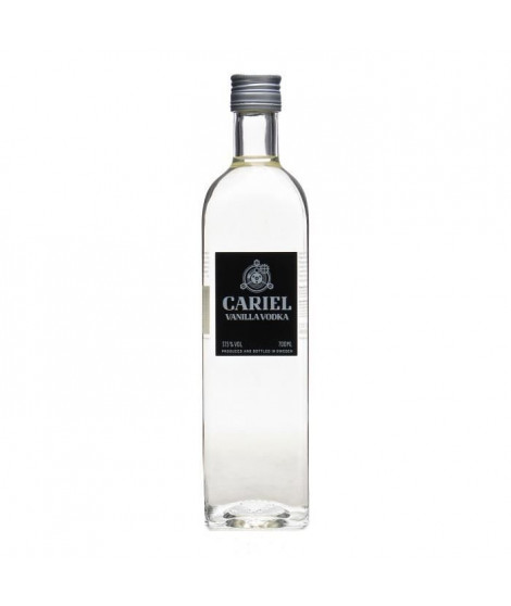 CARIEL Vodka Vanilla - 37,5 % - 70 cl