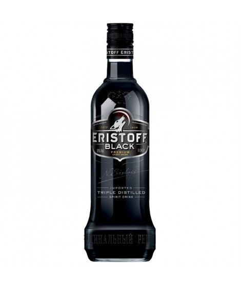 Eristoff Black Vodka 70 cl - 18°
