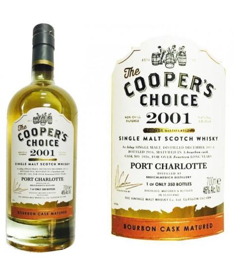 Cooper's 2001 Port Charlotte 0.70L 46% CRD