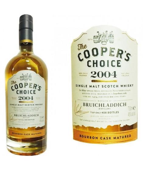 Cooper's Bruichladdich 2004 0.70L 46%