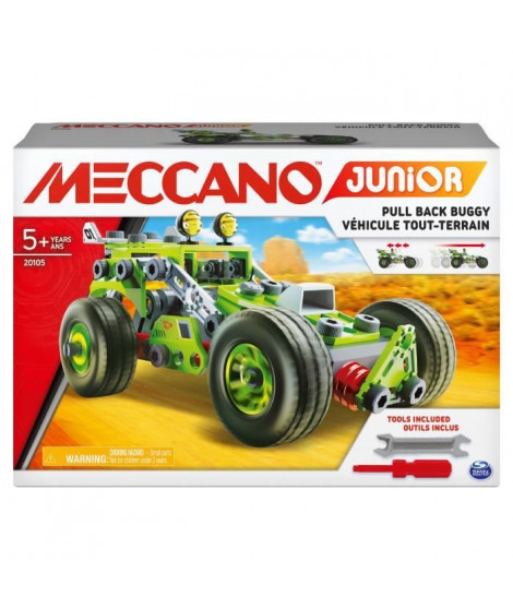 MECCANO JUINIOR - Ma voiture a rétrofriction