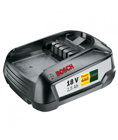 BOSCH Batterie Lithium 18V 2,5 Ah