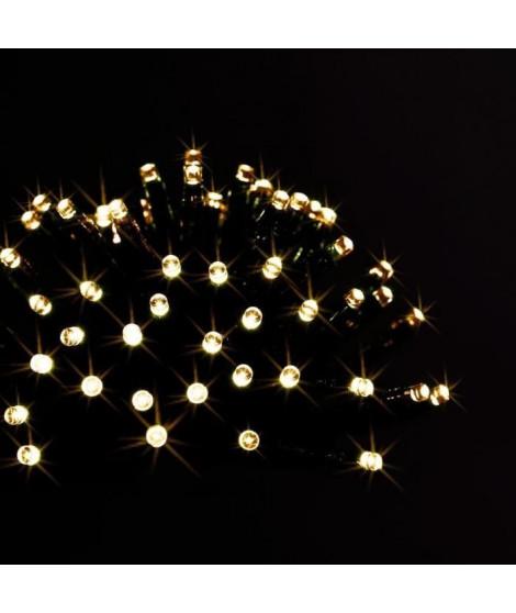 FEERIC LIGHTS & CHRISTMAS Guirlande électrique extérieure Les Specifiques programmable - 192 leds - Blanc - 14m