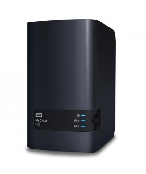 WESTERN DIGITAL - Serveur de Stockage domestique & pro- My Cloud EX2 Ultra - 4To