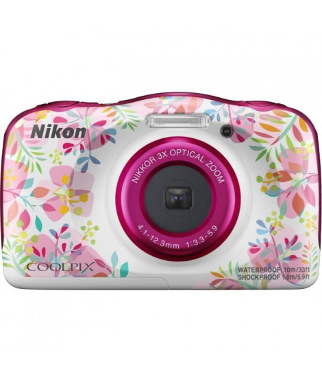 NIKON COOLPIX W150VQA113EA - 13Mp CMOS -3x, 2,7 - QVGA, 1080p - Water Proof - Shock Proof - WIFI