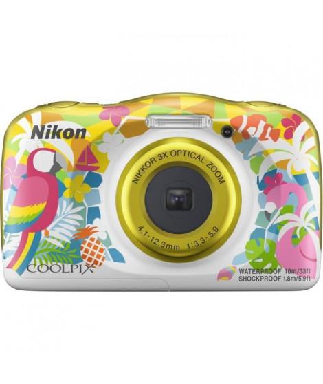 NIKON COOLPIX W150VQA114EA - 13Mp CMOS -3x, 2,7 - QVGA, 1080p - Water Proof - Shock Proof - WIFI