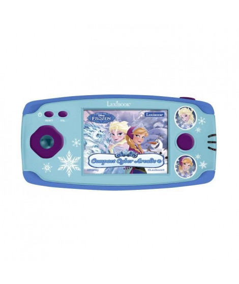 LEXIBOOK -LA REINE DES NEIGES - Console de Jeu Enfant avec 150 Jeux, Fille, a partir de 5 ans.