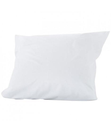 SWEETNIGHT Lot de 2 protege-oreillers imperméables AXEL 65x65 cm - Blanc