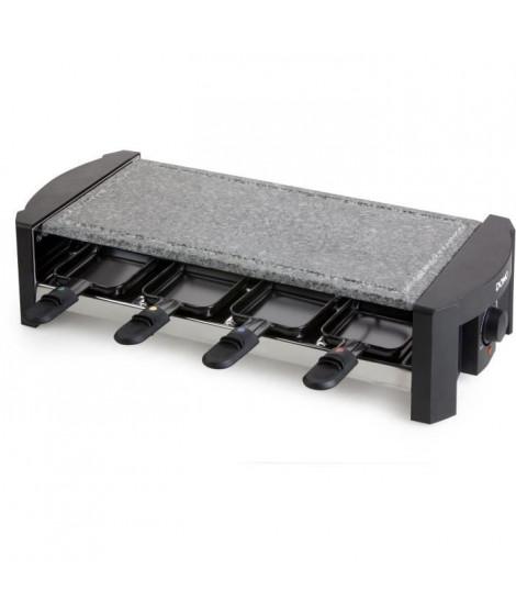 DOMO DO9039G Appareil a raclette - 8 Personnes - Pierre polie - 1300W