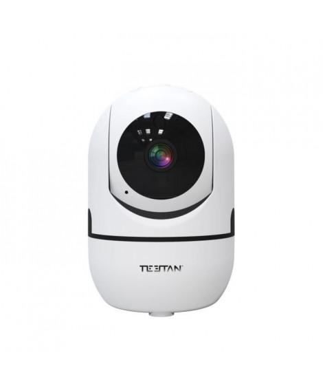 TEETAN Caméra de surveillance 360° Wifi 1080P