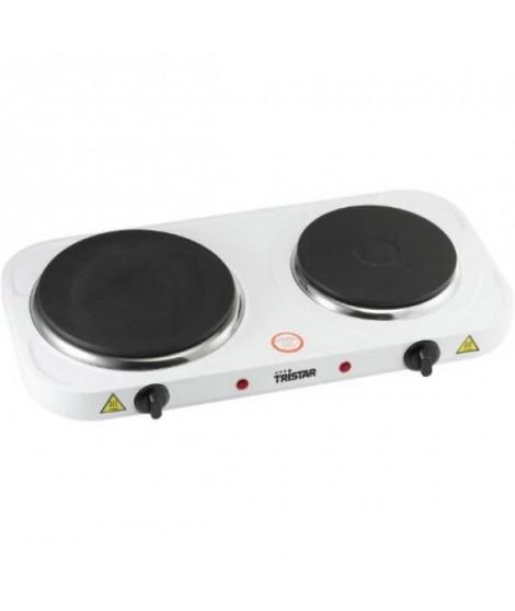 TRISTAR KP-6245 Plaque de cuisson posable en fonte - Blanc
