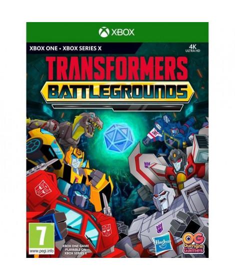 Transformers Battlegrounds Jeu Xbox One