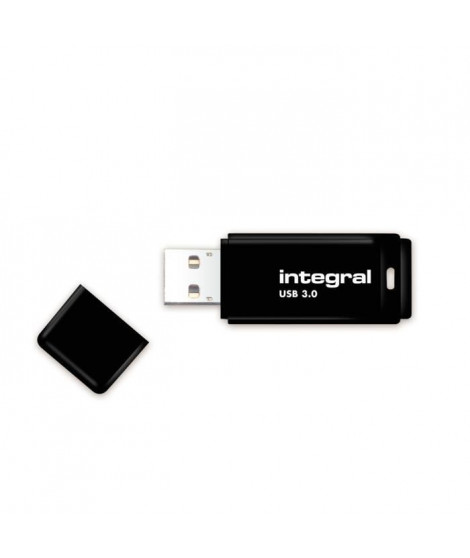 INTEGRAL - Clé USB - 128 Go - USB 3.0 - Noir