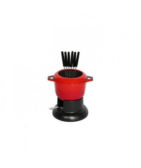 INVICTA PUV100303 Fondue standard - 14 cm - Rouge