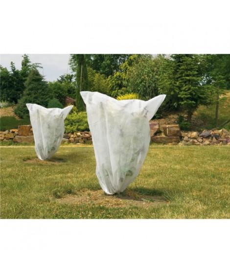 VILMORIN Lot de 5 housses d'hivernage 30g/m² -  0,80 x 0,80m - Blanc