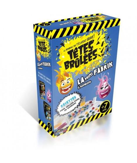 TETES BRULEES 430399 - La Mini Fabrik a Bonbons - Arômes et colorants naturels