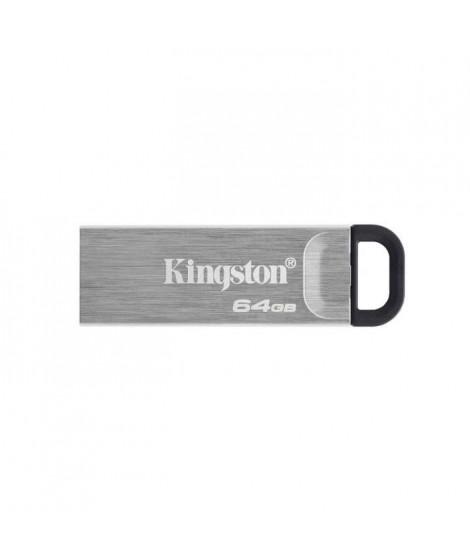 KINGSTON Clé USB DataTraveler Kyson 64Go - Avec élégant boîtier métal sans capuchon