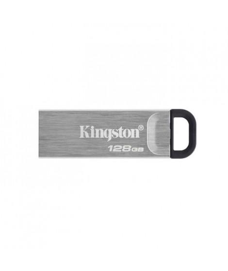 KINGSTON Clé USB DataTraveler Kyson 128Go - Avec élégant boîtier métal sans capuchon