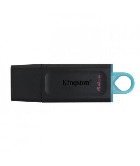 KINGSTON Clé USB DataTraveler Exodia 64GB - Avec capuchon de protection et anneaux pour porte clés