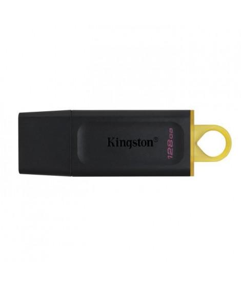 KINGSTON Clé USB DataTraveler Exodia 128GB - Avec capuchon de protection et anneaux pour porte clés