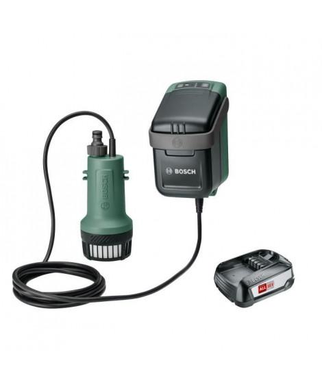 Pompe a eau Bosch - Garden Pump 18V (livrée avec batterie 18V-2,5Ah et chargeur)