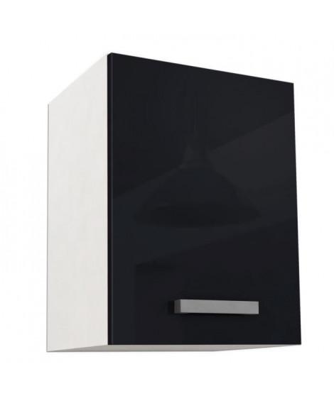 START Caisson haut de cuisine L 40 cm - Noir Brillant