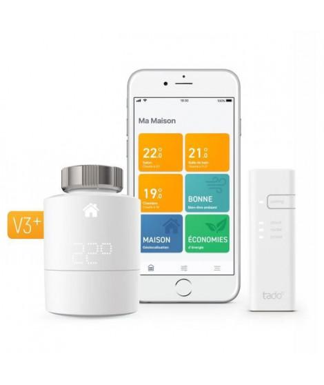 tado° - Tete Thermostatique Intelligente - kit de démarrage V3+