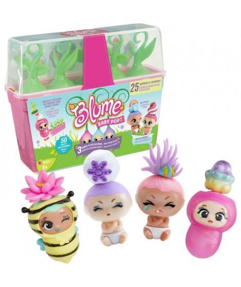 BANDAI Blume - Jardiniere Baby Pop Blume - Bébés et surprises a collectionner - Modele aléatoire