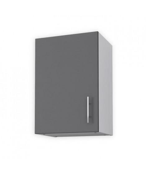 OBI Meuble haut de cuisine L 40 cm - Gris mat