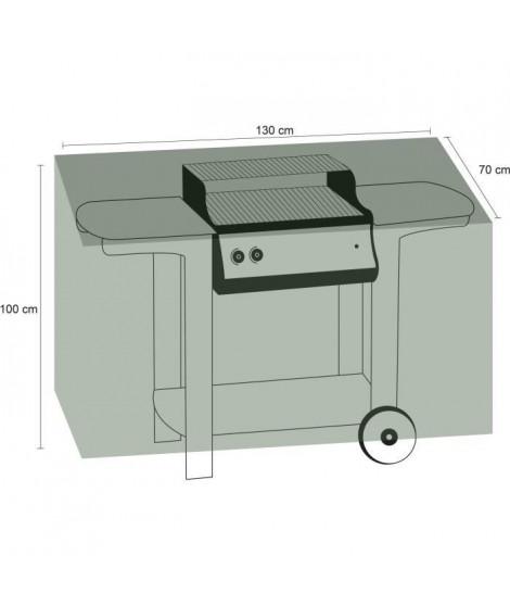 Housse pour barbecue rectangle 170 - Noire