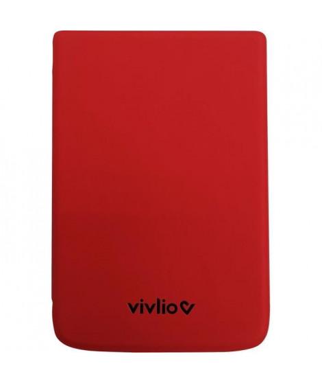 VIVLIO - Housse de Protection Intelligente Compatible TL4/TL5 et THD+ - Rouge