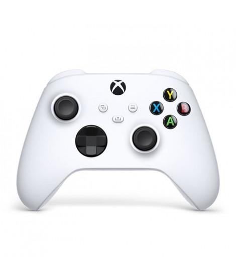 Manette Xbox Series sans fil nouvelle génération - Robot White / Blanc