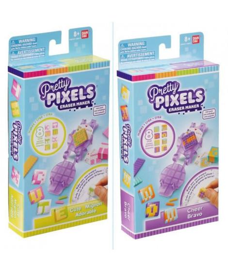 BANDAI Pretty Pixels - Krazy Pixels - Fabrique a gommes - Mini coffret - Modele aléatoire
