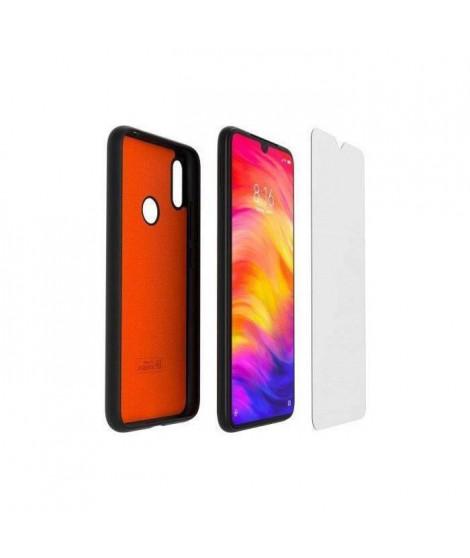 XIAOMI Pack coque TPU et verre trempé pour Xiaomi Redmi Note 7