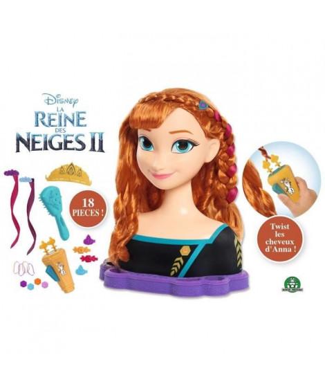 La Reine des Neiges 2 - Tete a Coiffer Deluxe - Anna