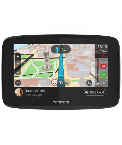 TOMTOM GO 5200 Cartographie Monde Trafic Zones de Danger a vie et Appel Mains-Libres (1PL5.002.04) Noir