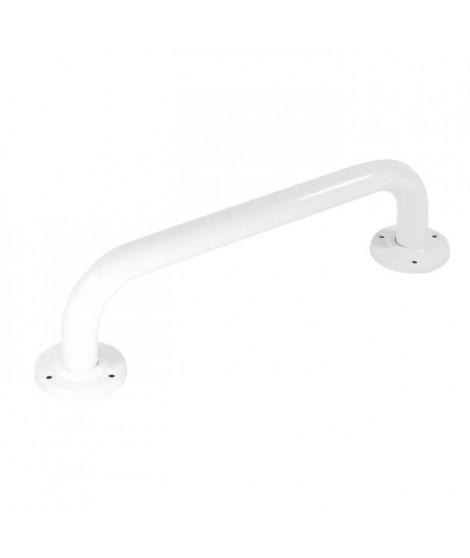 Barre de relevement en métal - 30 cm - Blanc
