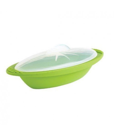 MASTRAD Papillote minute cuisson vapeur F68388 - Taille moyenne - Vert