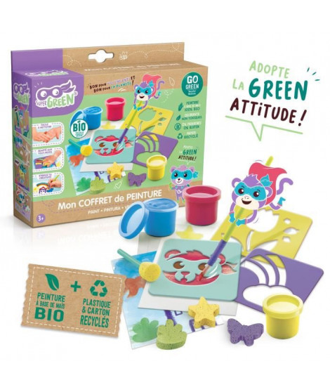 SUPER GREEN Kit de peinture bio
