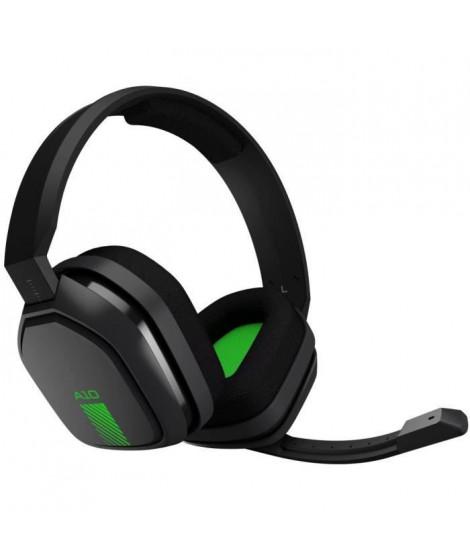 ASTRO Casque Gaming A10 Gris et Vert - Compatible Xbox