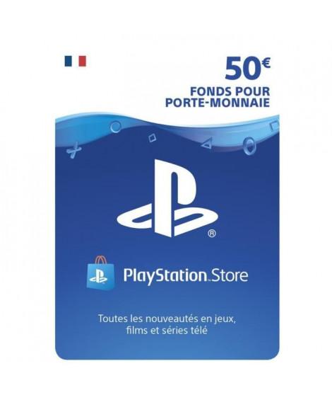 Playstation Network Live Card 50 € PS4 - PS3 - PS VITA