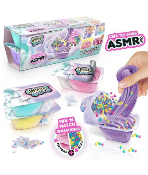 CRAZE Sensations ASMR Kit de 4 textures satisfaisantes