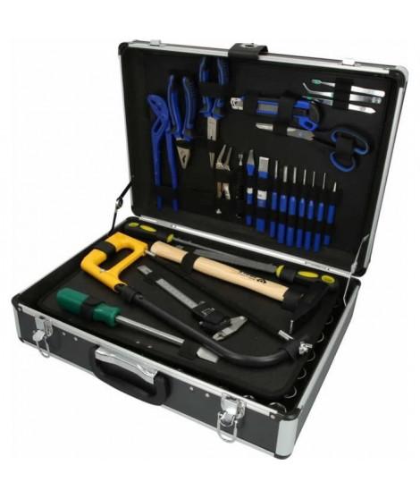BRILLIANT Coffret d'outils universel, 143 pieces