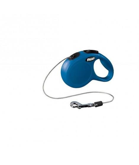 Laisse Flexi Classic Cordon Xs Bleu 3 MÚtres