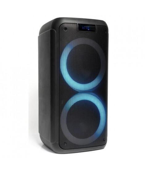 IBIZA - FREESOUND400 - Enceinte active autonome 400W avec Bluetooth, USB, Micro-SD et télécommande
