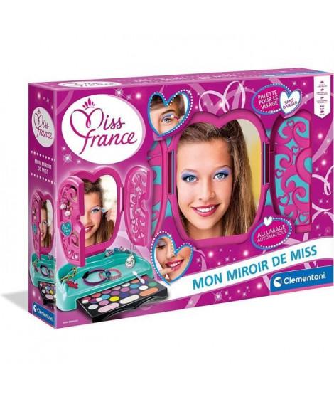 CLEMENTONI - 52502 - Miroir de maquillage Miss France