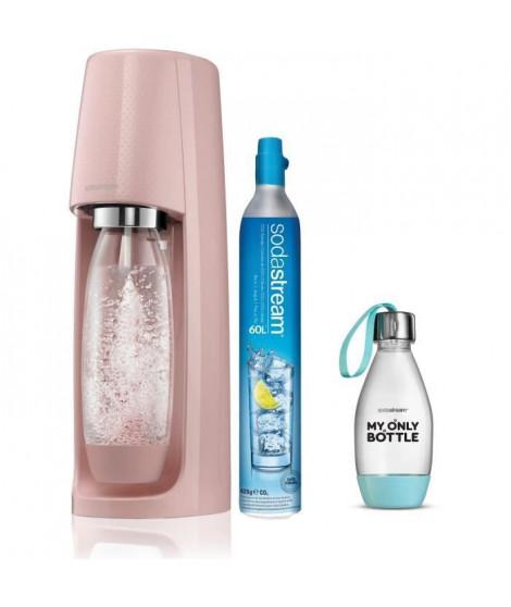 SODASTREAM Pack Machine a soda Spirit Rose Pastel + Ma Petite Bouteille Style 0.5L