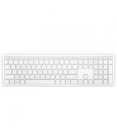 HP Pavilion Wireless Keyboard 600 (White) FR